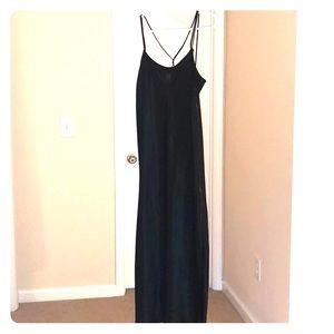 Stunning satin slip dress dress